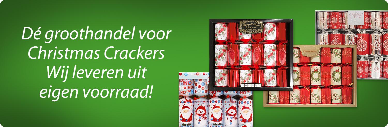 Christmas crackers, kerstpakketten, spelletjes, speelgoed